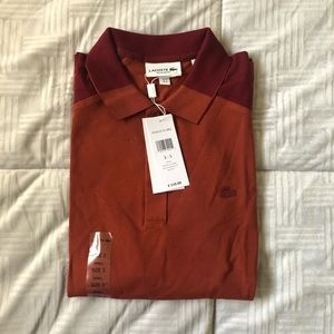 Lacoste motion small regular fit polo